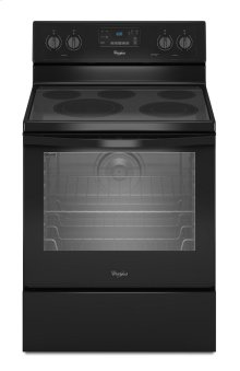 EDMOND LOCATION ONLY - 6.4 Cu. Ft. Freestanding Electric Range with AquaLift® Self-Cleaning Technology
