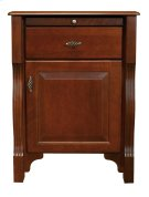 Wellington 1 Drawer Night Stand, Hinge on Right (as shown in the picture) Product Image
