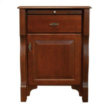 Wellington 1 Drawer Night Stand, Hinge on Right (as shown in the picture)