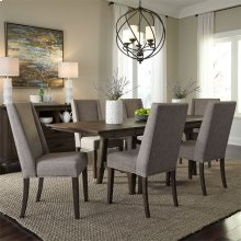 Opt 7 Piece Trestle Table Set
