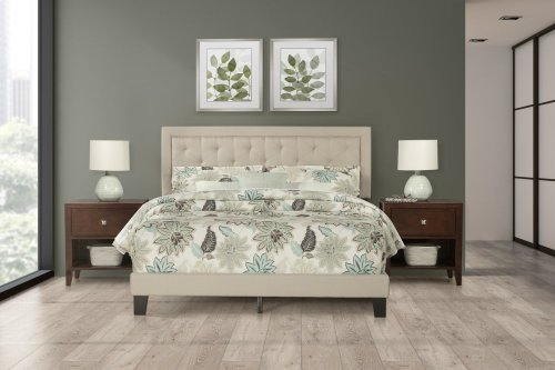 La Croix Bed In One - King - Fog