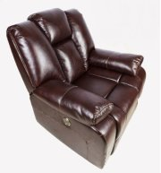 Brown Leather Recliner Product Image