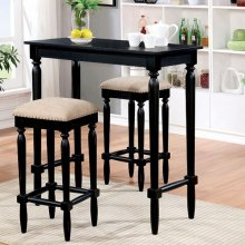 Oprah 3 Pc. Bar Table Set