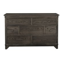 Cedar Lakes 7 Drawer Dresser