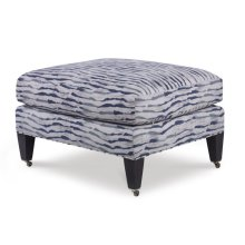 Sills Ottoman With Casters