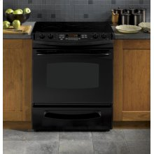 "GE Profile Series 30"" Slide-In Electric Range"