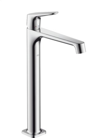 Chrome Single-Hole Faucet, Tall Product Image
