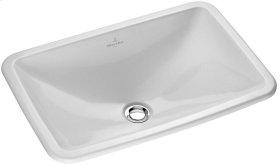 Drop-in washbasin (rectangular) Angular - White Alpin CeramicPlus