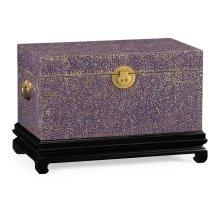 Violet Eggshell Trunk