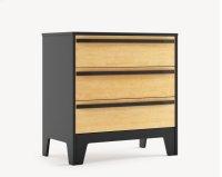 Caramel 3 Drawer Dresser Product Image