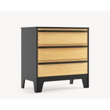 Caramel 3 Drawer Dresser