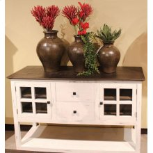 Antique White Sideboard