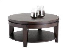 Asia Round Coffee Table - Espresso