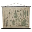 Botanical Rolled Antique Canvas Wall Decor Product Image