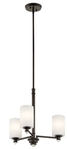 Joelson 3 Light Chandelier Olde Bronze®