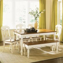 Opt 6 Piece Rectangular Table Set