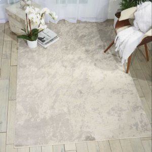 Maxell Mae12 Iv/grey Rectangle Rug 3'10'' X 5'10''