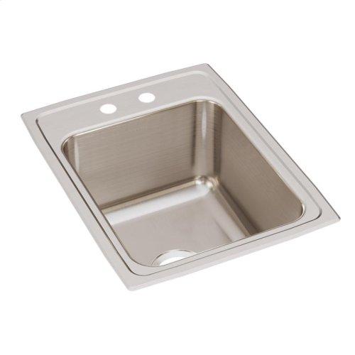 """Elkay Lustertone Classic Stainless Steel 17"""" x 22"""" x 10-1/8"""", Single Bowl Drop-in Sink"""
