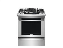 30'' Gas Built-In Range with Wave-Touch® Controls
