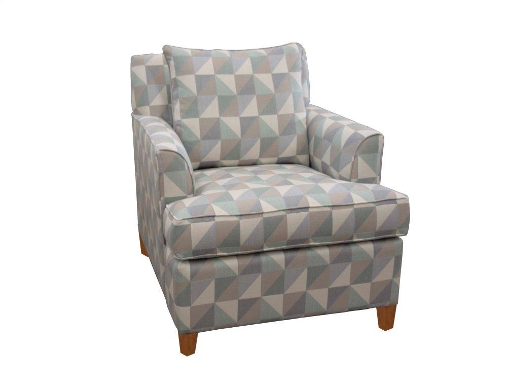 Upholstered Chair, Non Skirted. Hidden