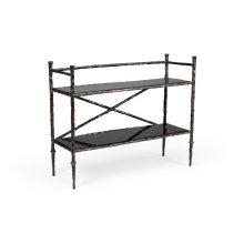 Alberto Bar Stand - Bronze
