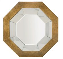 Soho Luxe Octagonal Mirror in Dark Caramel (368)