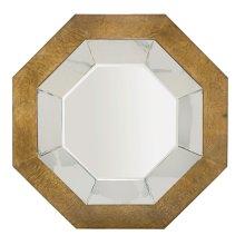 Soho Luxe Octagonal Mirror in Dark Caramel (368)