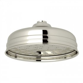 "Polished Nickel Perrin & Rowe 5"" Rain Showerhead"