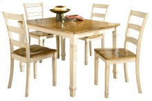 Rect Table w/ Side Chairs (RTA)(5/Ctn)