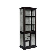 Natural Metal Apothecary Cabinet