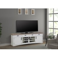 Americana Modern Cotton 92 in. TV Console Product Image