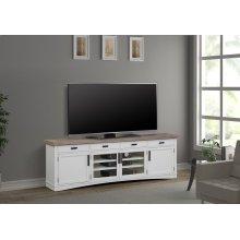 Americana Modern Cotton 92 in. TV Console