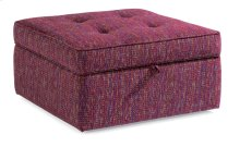 Daphne Fabric Square Storage Ottoman