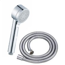 Hand Shower with Hose Wallace (series 15) Polished Chrome