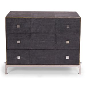 Sarreid Ltd  Grey Shagreen Dresser