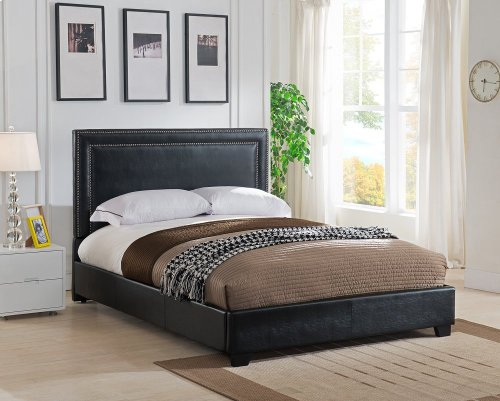 BAN66TBL Banff Platform Bed - King, Black