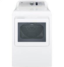 7.4 cu. ft. Electric Dryer w/ Aluminized Alloy Drum - White