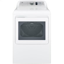 OPEN BOX GE® 7.4 cu. ft. Capacity aluminized alloy drum Electric Dryer with HE Sensor Dry