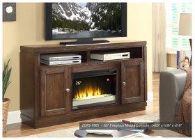 """Opus 65"""" TV Console/Fireplace"""