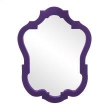 Asbury Mirror - Glossy Royal Purple