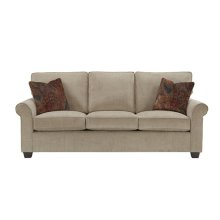 3 Cushion Sofa - Beige Chenille Finish