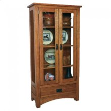 Gallatin Classic Jelly Cabinet with glass sides