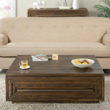 Modern Gatherings - Coffee Table - Brushed Acacia Finish