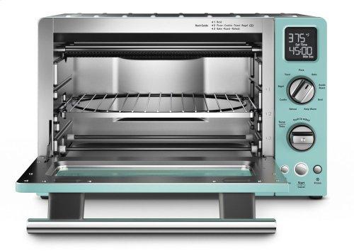 """12"""" Convection Digital Countertop Oven - Aqua Sky"""