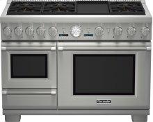 48-Inch Pro Grand® Commercial Depth Dual Fuel Steam Range