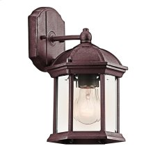 """Barrie Collection Barrie 10.25"""" 1 Light Outdoor Wall TZ"""