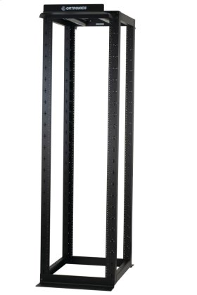 """MM20 4-Post Rack, 30""""D fixed, 7'H, 45 RU, punched 3/8"""" square"""