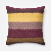 Plum / Multi Pillow