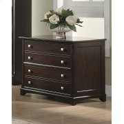 Garson Transitional Cappuccino File Cabinet Product Image