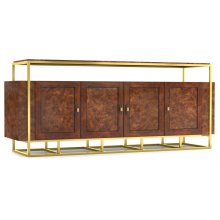 Woodstock Wood/Metal Entertainment Console